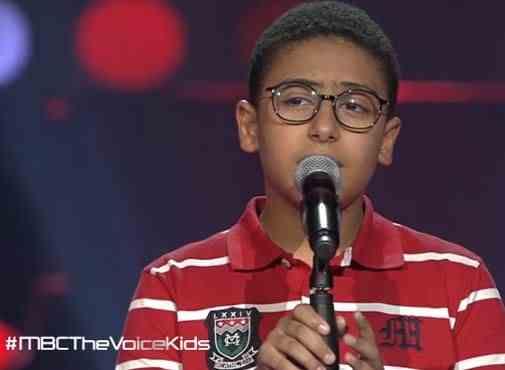 شاهد ذا فويس كيدز احمد الحسين - يا وابور - مرحلة الصوت