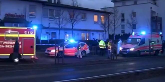 ألمانيا: لاجئ سوري يرمي أطفاله الثلاثة من النافذة!