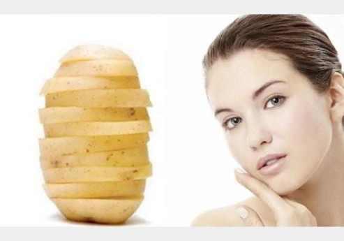 البطاطا علاج للبشرة وتجميلها