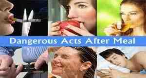 أكثر 6 عادات خاطئة بعد الأكل يجب تجنبها