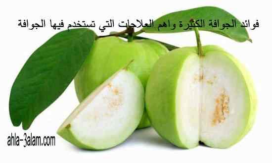 الجوافة,فوائد الجوافة,مهاي الجوافة,جوافة, عصير الجوافة,علاجات الجوافة