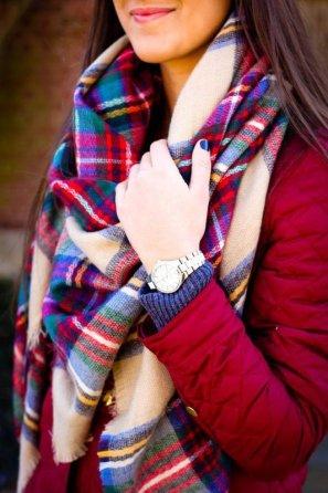 سكارف صوفي للشتاء