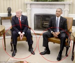 لقاء اوباما ترامب تحليل خبراء لغة الجسد العالميين مفاجئة كبيرة