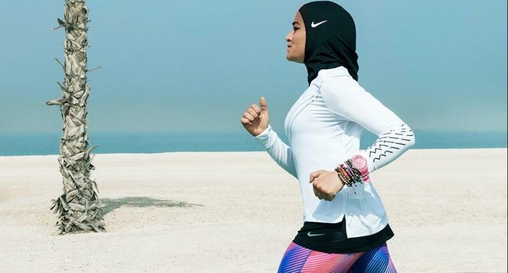 حجاب للاعبات المسلمات