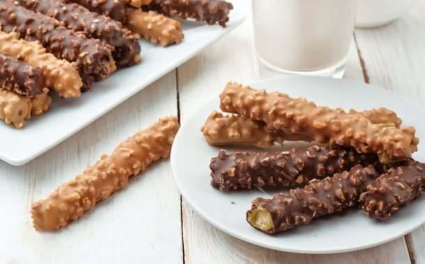 أصابع الشوفان بالشوكولاته وجبة غنية تسعد أطفالك