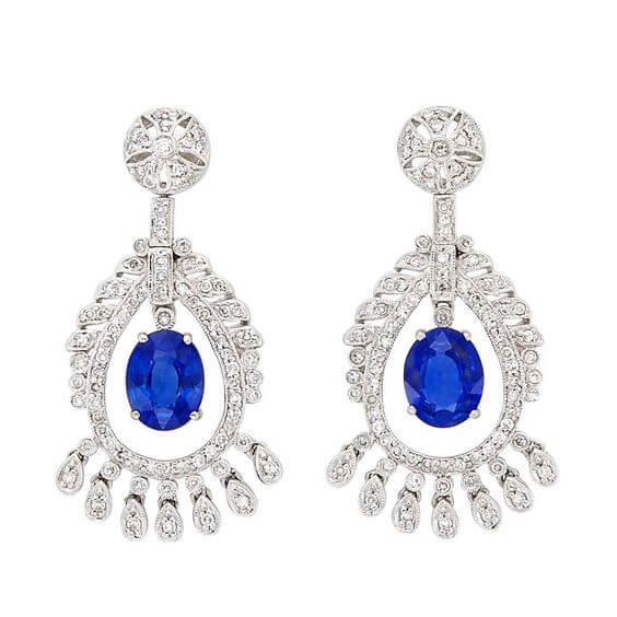 مجوهرات الياقوت الأزرق