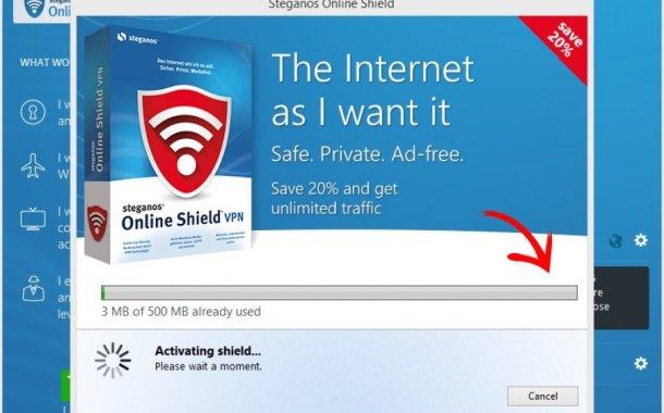 ستيجانوس بروكسيبرنامج Steganos VPN افضل حل لتصفح مخفي وآمن