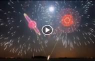 الالعاب النارية 2018 في اليابان طعم أخر شاهد حفل العاب نارية لاستقبال العام الجديد في اليابان