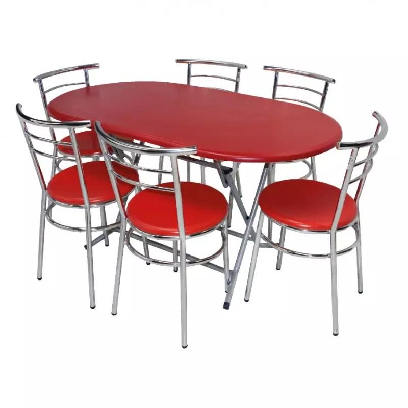 table pliante ovale werzalit 146 x 78