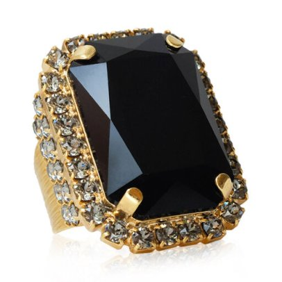 Alexa Cocktail Ring, guld