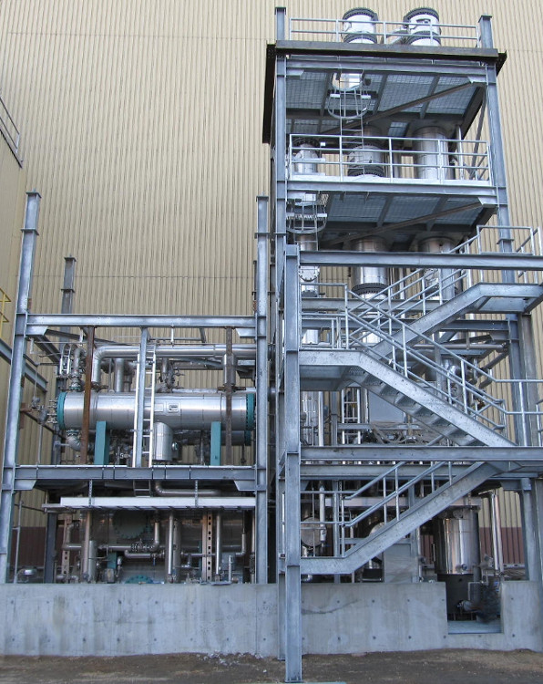 A.H. Lundberg - Methanol Purification System
