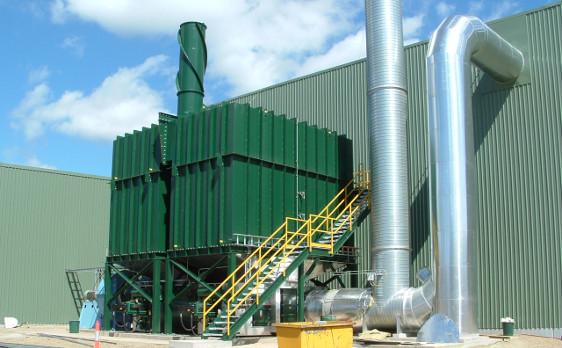 A.H. Lundberg-Regenerative Catalytic Oxidizer RCO