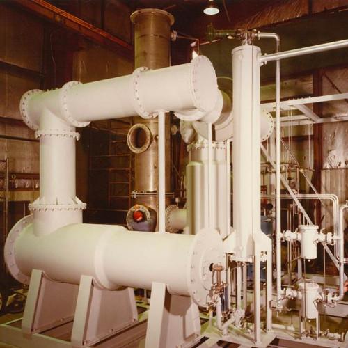A.H. Lundberg- Sulphur Burner Installation