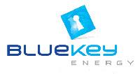 Bluekey energy company logo