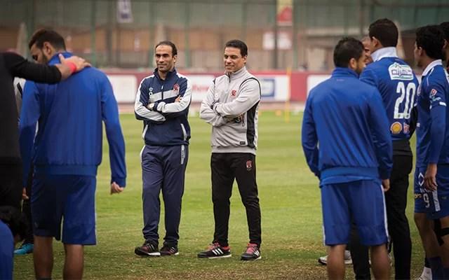 حسام البدري: ثقتي كبيرة بلاعبي الفريق في لقاء العودة