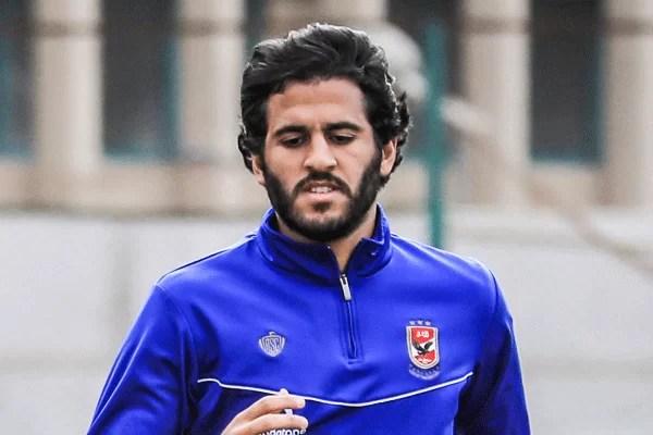 تشكيل النادي الأهلي امام شبيبة الساورة الجزائري