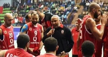الأهلي يلاقي المختلط في قبل نهائي كأس مصر لكرة السلة