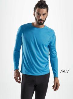 Sol's Sporty miesten pitkähihainen tekninen t-paita