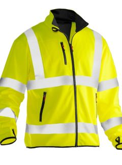 Softshell light Hi-vis Jobman 5101