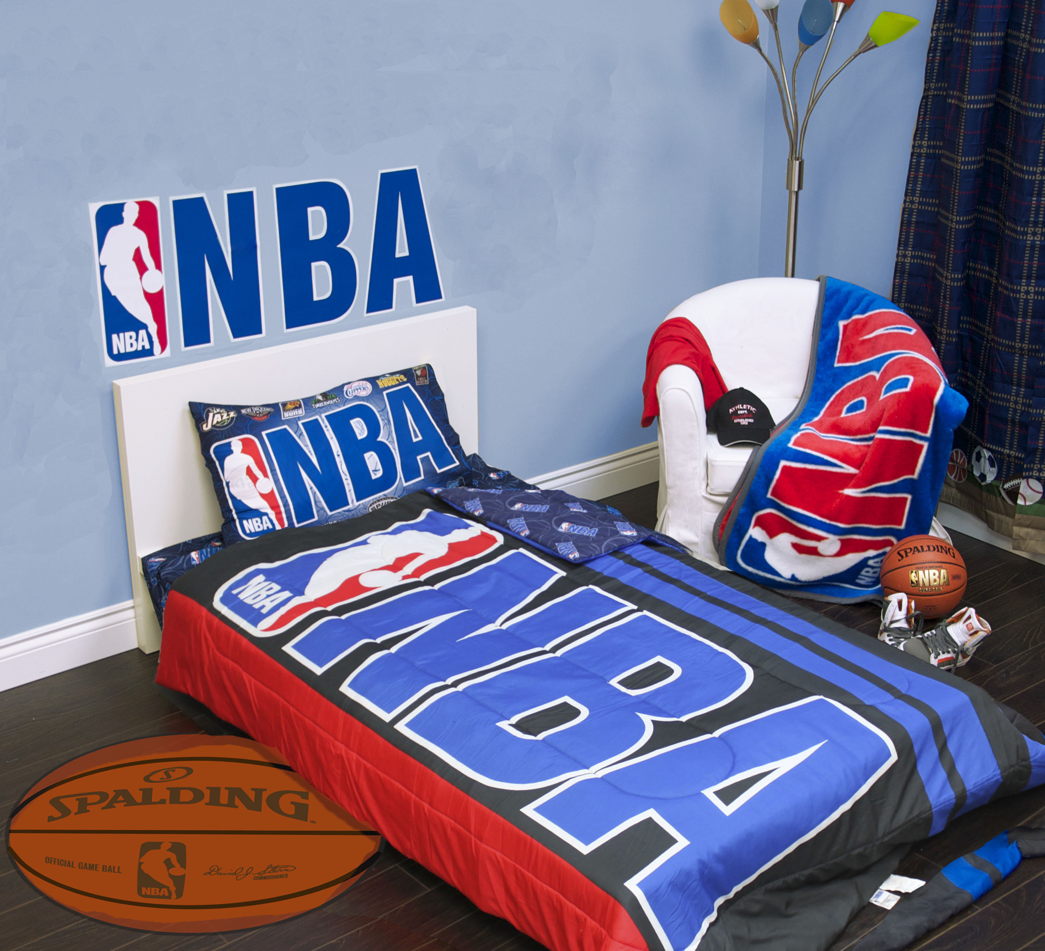 Exclusive Nba Collection Quilt 4 Pcs Twin Set Official Licensed New Rrp 129 99