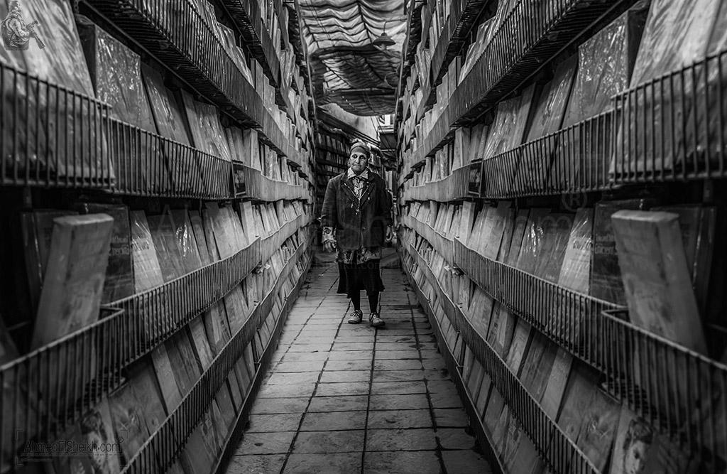 Woman Walking in Old Egypt