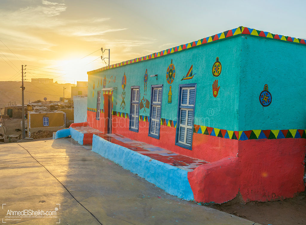 Colored House in Heisa