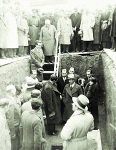 MERİNOS TEMEL ATMA TÖRENİ 28 KASIM 1935
