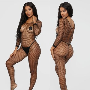 A sexy hair sculpting suit long-sleeved corset bodysuit sexy lingerie