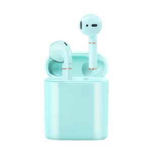 a wholesale bluetooth headset wireless bluetooth headset to the earband charging compartment
