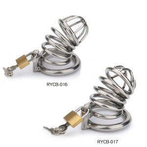 alternative male stainless steel chastity lock bird cage adult products penis bondage cage fun factory direct wholesale