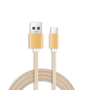 Android braided charging cable mobile phone fast charging line meter for Apple data cable