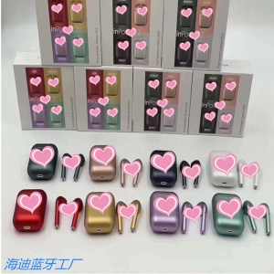 a wholesale macaron headset wireless bluetooth three-generation metal color