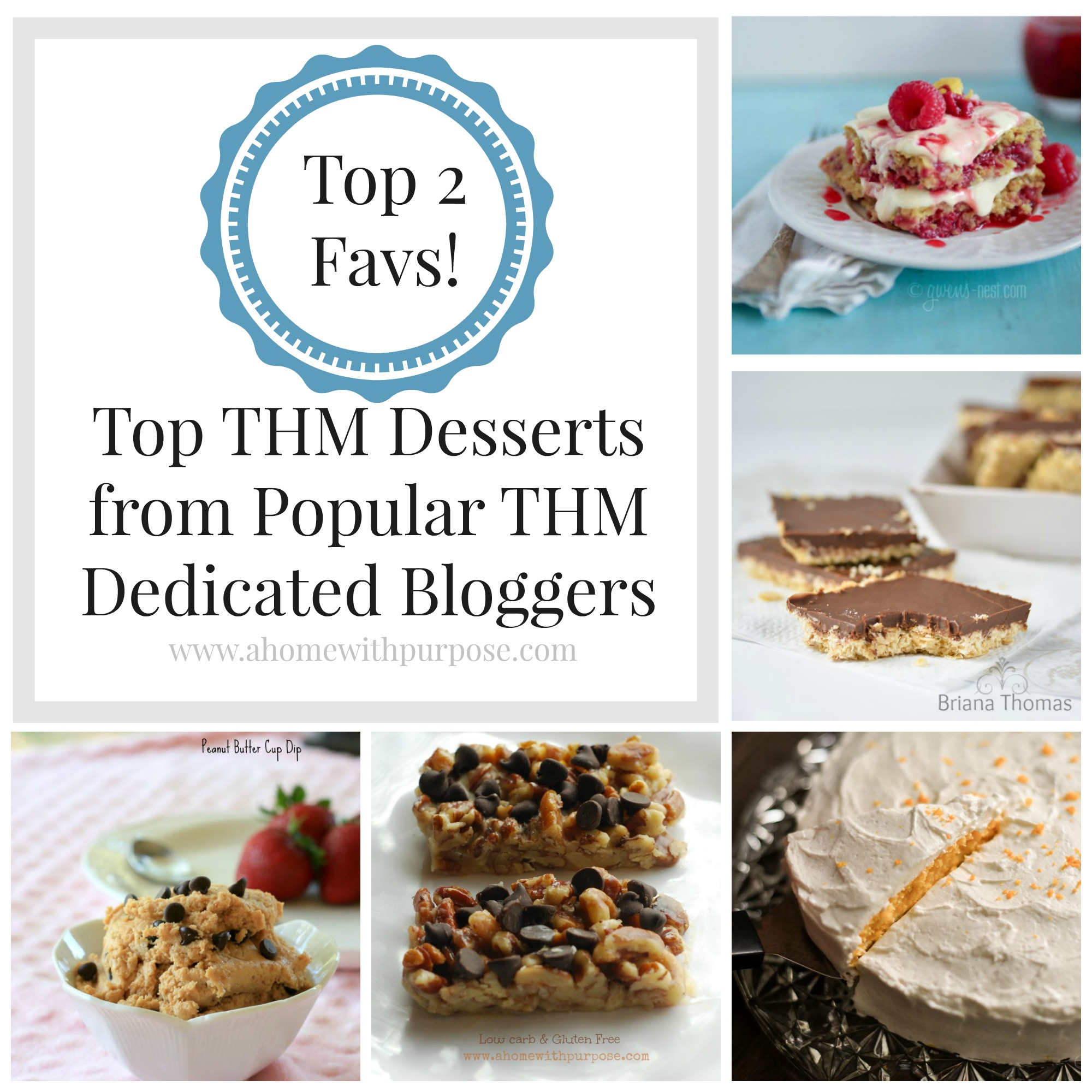 Top 2 Favorite THM Desserts From Bloggers