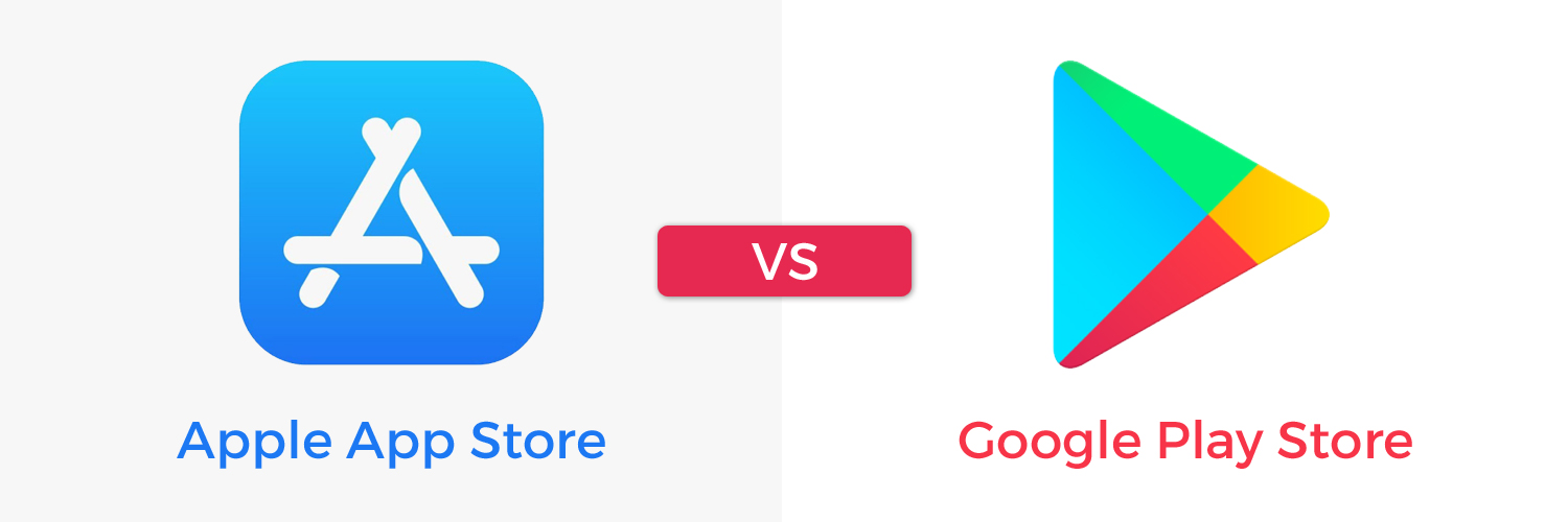Apple app store vs Google play store-ahomtech.com