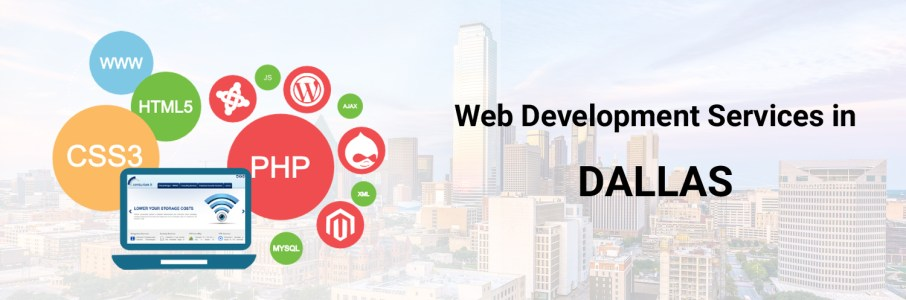 web development services in Dallas-ahomtech.com