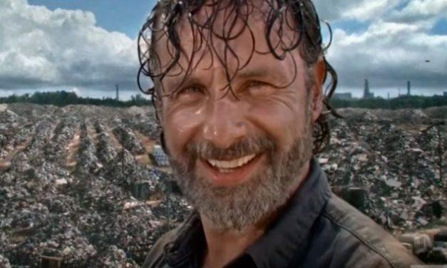 Vídeo do último episódio de 'The Walking Dead' traz vários OVNIS