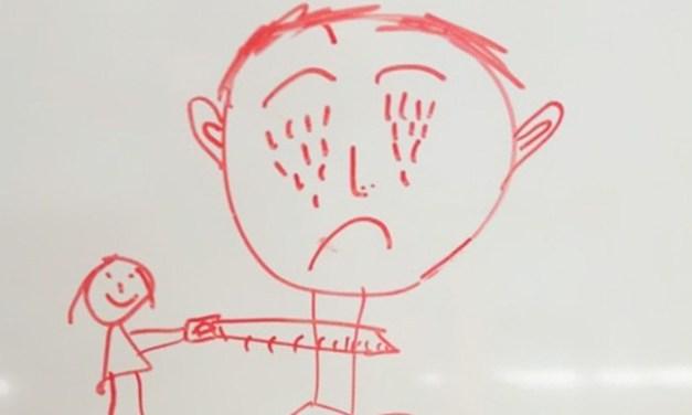 Confira 7 desenhos sinistros feitos por crianças