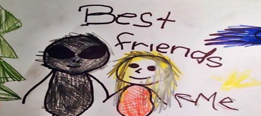 Confira desenhos sinistros que foram feitos por crianças