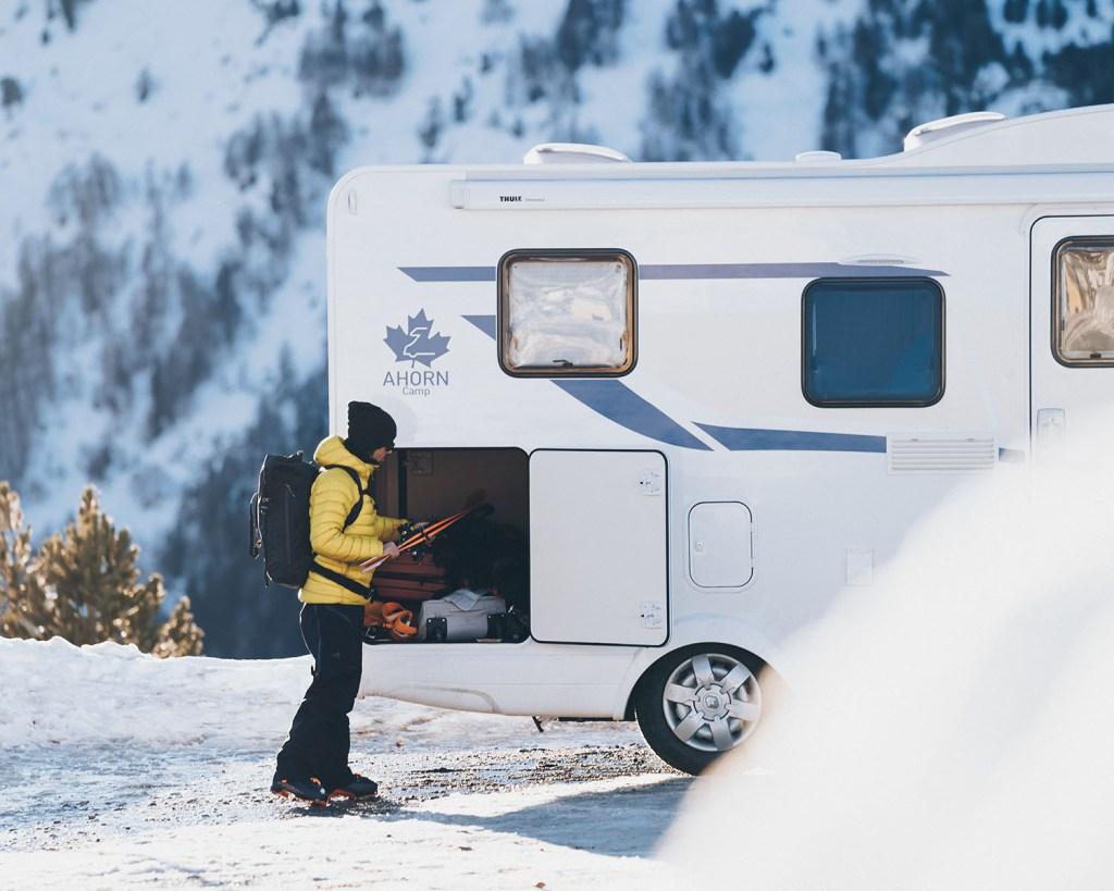 Wohnmobil Schweiz Winter