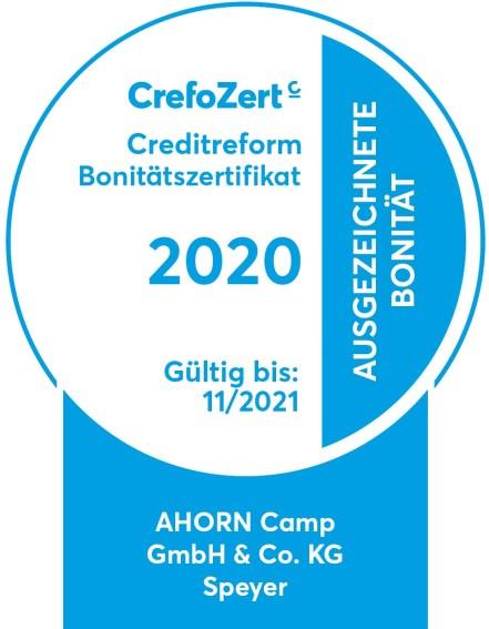 Crefozert Siegel 2020.