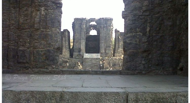 Primary Sanctum of Martand Sun Temple Kashmir