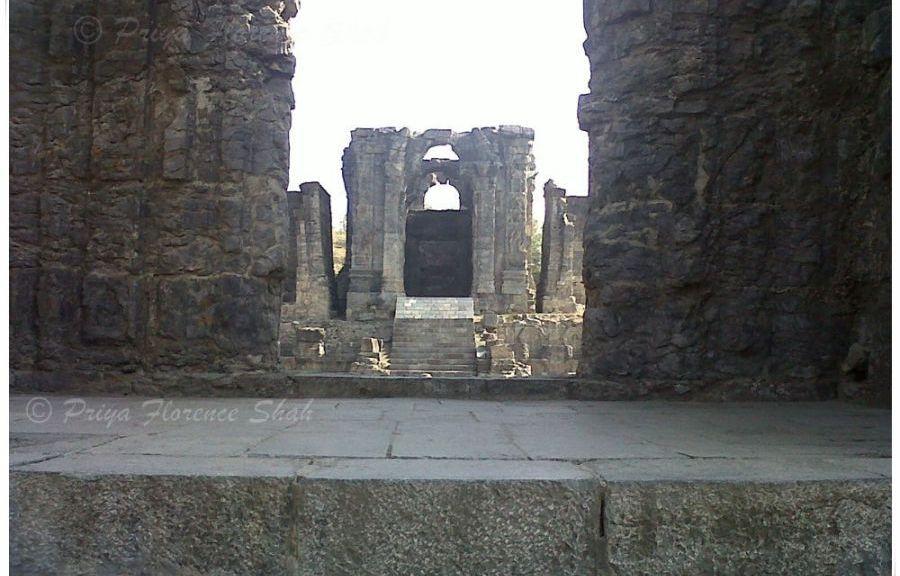 Primary Sanctum of Martand Sun Temple Kashmir