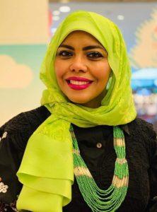 رئيسة المبادرة الكاتبة أمل الرندي