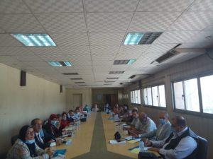 اجتماع مديرى عموم التربية الاجتماعية على مستوى الجمهورية