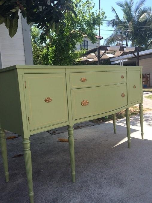 DIY sideboard makeover