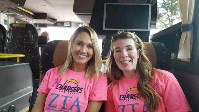 Crucial Catch|Think Pink with ZTA