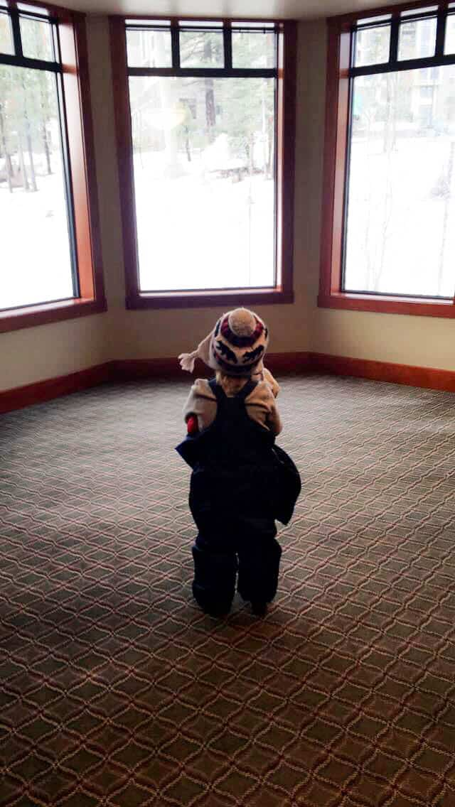 A short weekend trip to the Villages at Mammoth Resort. Skiing adventures in Mammoth with toddlers.