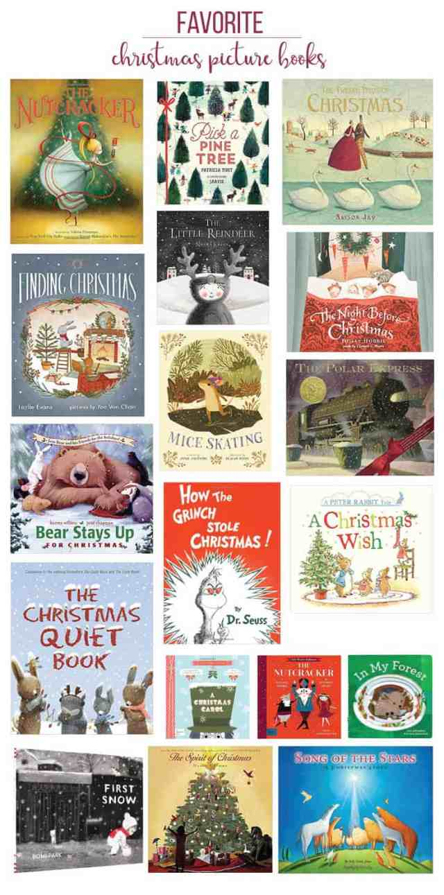 Favorite Christmas Books for Kids\Ahrens at Home