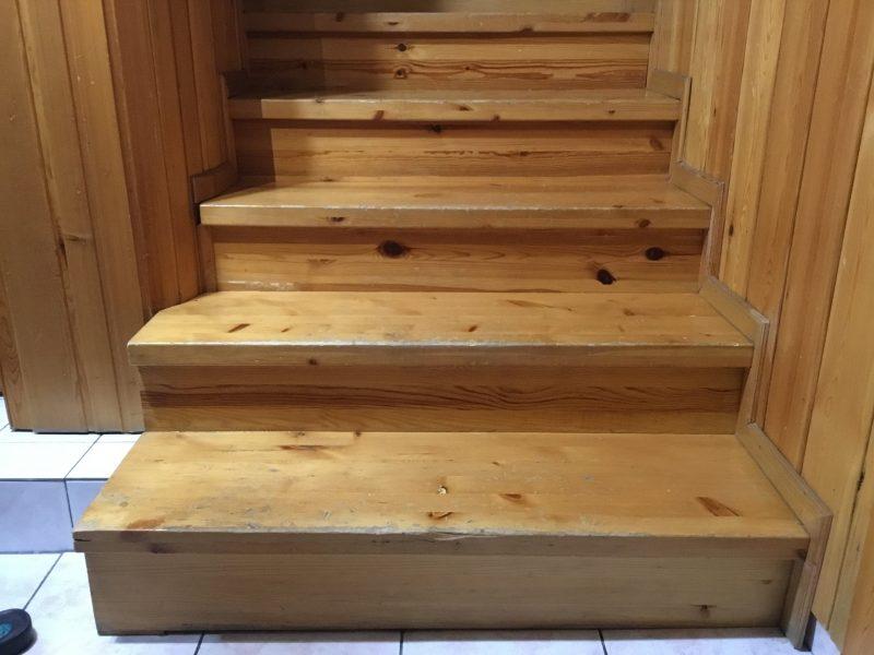çam merdiven