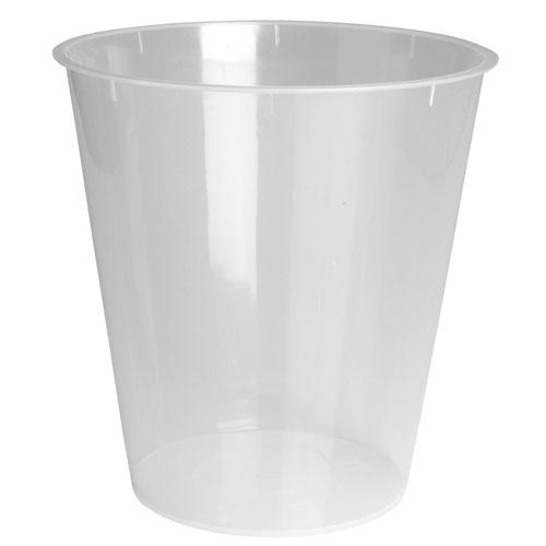 Steeltek Plastic Wastebasket Liner Fits All 9 Amp 11 Qt